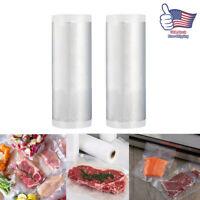 "2 Rolls Vacuum Sealer Bags 5"" X 500CM Seal Storage Bag For Kitchen Food Saver"