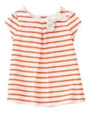 NWT Gymboree Cute on the Coast Bow Striped Smock Top 3T