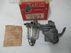 Mopar REBUILD 1937-40 Chrysler, 1936-38 DeSoto, 1936-41 Dodge, AC Fuel Pump 587X