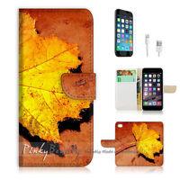 ( For iPhone 6 Plus / iPhone 6S Plus ) Case Cover P0250 Leaf