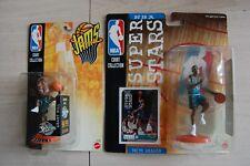 2--1998/99 GRANT HILL 5-inch+3-inch Mattel Detroit Pistons figures Jams moc Duke