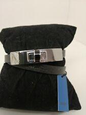Joop Armband Echtleder Schwarz, Grösse verstellbar