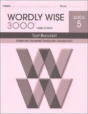 Wordly Wise 3000 Grade 5 Tests New *3rd edition*