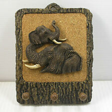 HANDMADE HOME KITCHEN BEDROOM BATHROOM WOODEN ELEPHANT STYLE HANGER