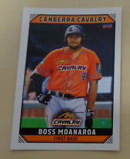 Boss Moanaroa 2018/19 Australian Baseball League Trading Card Canberra Cavalry
