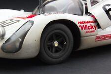 RACE WEATHERED | Exoto 1969 Wicky Porsche 910-6 | Le Mans | 1:18 | #MTB00062GFLP