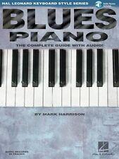 Blues Piano Hal Leonard Keyboard Style Series Keyboard Instruction NEW 000311007