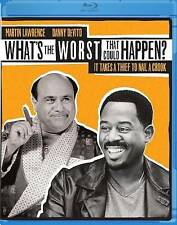WHAT'S THE WORST THAT CAN HAPPEN BLU-RAY - SINGLE DISC EDITION - NEW UNOPENED