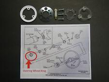 64 65 66 Buick Riviera Walnut Wood Steering Wheel Horn Bar Parts 1964 1965 1966