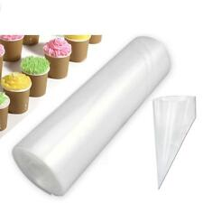 50x Disposable Piping Bag Icing Fondant Cake Cream Decoration Pastry Tip Tool