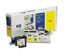 ORIGINAL HP Cabezal de impresión Designjet 1050 1055cn/C4823A nr. 80 Amarillo