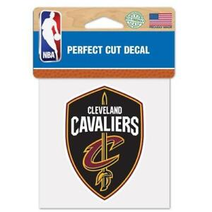 "Cleveland Cavaliers Perfect Cut 4""x4"" Color Decal [NEW] NBA Auto Sticker Emblem"
