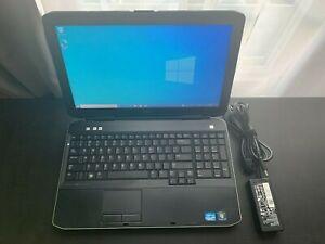 """Dell Latitude E5530 (15.6"""", Intel i3 2350M, 4GB, 320GB, Windows 10) with Charger"""