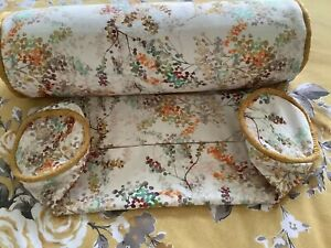 """Pair Cylinder Bolster Cushion Covers 18"""" X 6"""""""