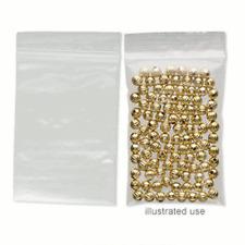 100 Plastic AntiTarnish Ziplock Bags 3x2 ALL CLEAR 2Mil NEW