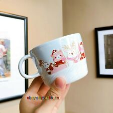 Starbucks Cup 2019 China Christmas 12oz Happy and lovely animals party Mug