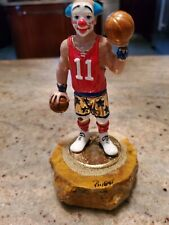 Ron Lee Clown The Basketball Player 24 Kt Gold Pinky Clowns Sports Collection