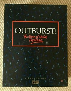 Vintage Retro OUTBURST! (First Edition) BY PARKER GAMES. Complete with rules