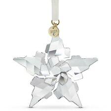 Decorazione Di Natale Swarovski Stella STAR EDIZIONE ANNUALE 2021 5557796 Bianca