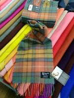 100% Cashmere Scarf | Johnstons of Elgin | Antique Buchanan | Made in Scotland