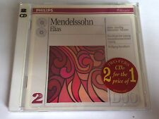 Mendelssohn: Elias (Jun-1993, 2 Discs, Philips) NEW CD