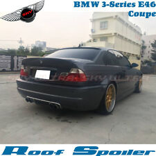 Painted A Look Rear Roof Spoiler Wing For 99-05 BMW E46 323Ci 325Ci 330Ci Coupe
