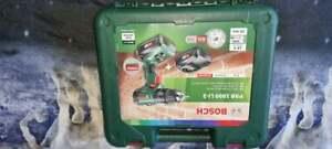 Bosch PSB 1800 LI-2 18V Cordless Combi Drill Set with case 2X batteries