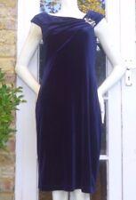 JESSICA HOWARD midnight blue velvet dress BNWOT Size 12