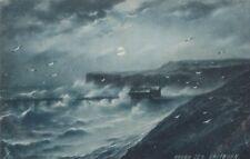 TUCK: SAPPHIRE ROUGH SEAS -Rough Sea,Saltburn-  -SERIES 6319