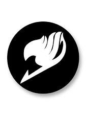 "Pin Button Badge Ø25mm 1"" Logo Emblem Fairy Tail Shōnen Manga Japon"