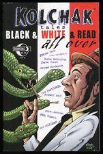 Kolchak Tales Black & White & Red All Over One-Shot Comic Night Stalker Horror