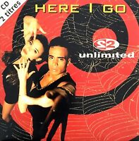2 Unlimited ‎CD Single Here I Go - France (EX+/EX+)