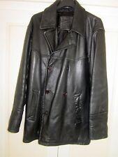 Leather 3/4 length Jacket
