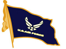Wholesale 12 Air Force Us Air Force Wavy Flag With Tassel Lapel Hat Pins