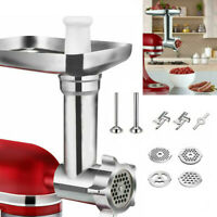 Meat Grinder Sausage Stuffer Attachment For KitchenAid & Cuisinart Stand Mixer