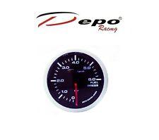 DEPO RACING DIGITAL BENZINDRUCK ANZEIGE WS-W5267B 0-6 BAR FUEL PRESSURE GAUGE