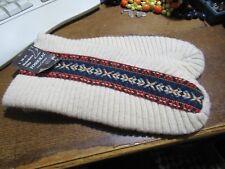 Magnifique Finlandais laine chaussons patins, neuf, taille L, 39-41. BNWT.