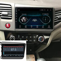 "For 2012-2015 Honda Civic Android 9.1 Car Stereo Radio GPS 9"" MP5 Player 1+16GB"
