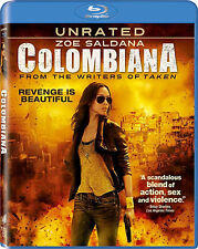 The Colombiana Unrated, Blu-Ray, Free Shipping