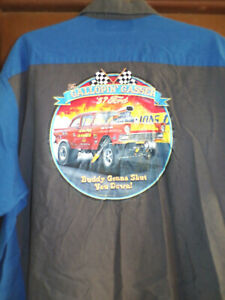 '57 Ford Gasser Mechanic~Shop Shirt Short Sleeve Size: 4XL Used/recycled 427 FE
