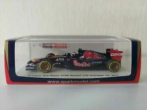 Spark 1/43 Scuderia Toro Rosso STR9 D. Kvyat - #26 Australian Gp 2014 - S3084