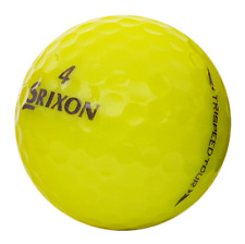 35 Mint YELLOW Srixon Trispeed Tour Golf Balls AAAAA