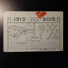 SEMEUSE N°138 SUR CARTE LETTRE COVER CAD DU 12.12.1912 12 DÉCEMBRE 1912 PR PARIS