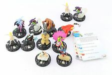 Heroclix Marvel 10th anniversaire Thor magnéto Thing Green Goblin Storm