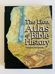 The Lion Atlas of Bible History by Paul Lawrence  (HC 2006 1st Ed) FREE POST
