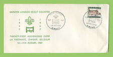 Boy Scouts Cover Stamps