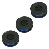 5m Twin Line & Spool for DRAPER 430W GT530A Strimmer Trimmer x 3