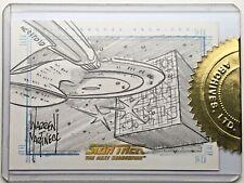 STAR TREK QUOTABLE NEXT GENERATION - SketchaFEX Card - WARREN MARTINECK Sketch