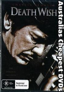 Death Wish DVD NEW, REGION ALL