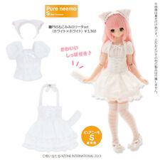 Azone Pureneemo Nekomimi Lolita Set White Blythe Momoko Doll Pullip DAL Obitsu